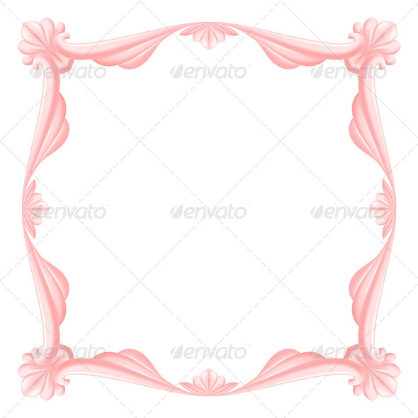 Pink Frame - Miscellaneous Vectors