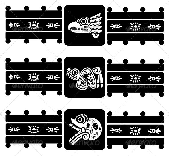 Indian Design - Decorative Symbols Decorative