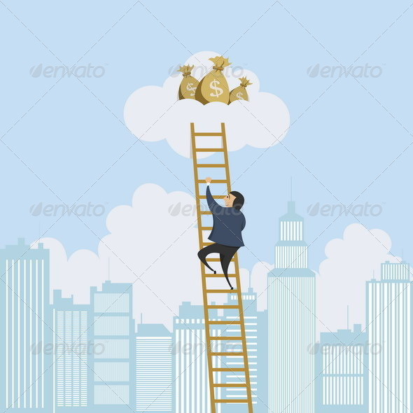 Scaling Ladder to the Money - Concepts Business