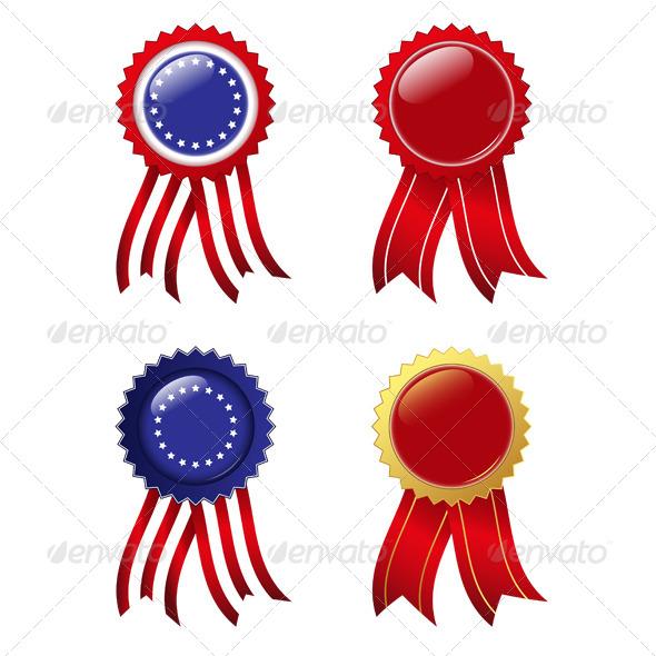 Badges - Decorative Symbols Decorative