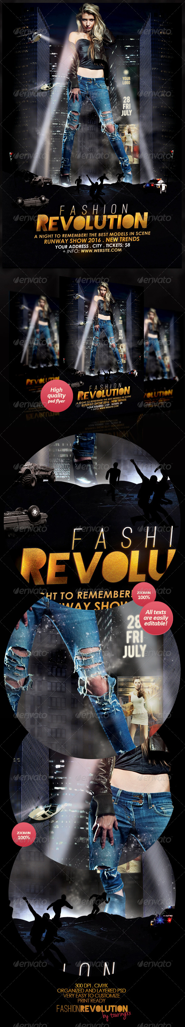 Fashion Revolution Flyer Template - Flyers Print Templates