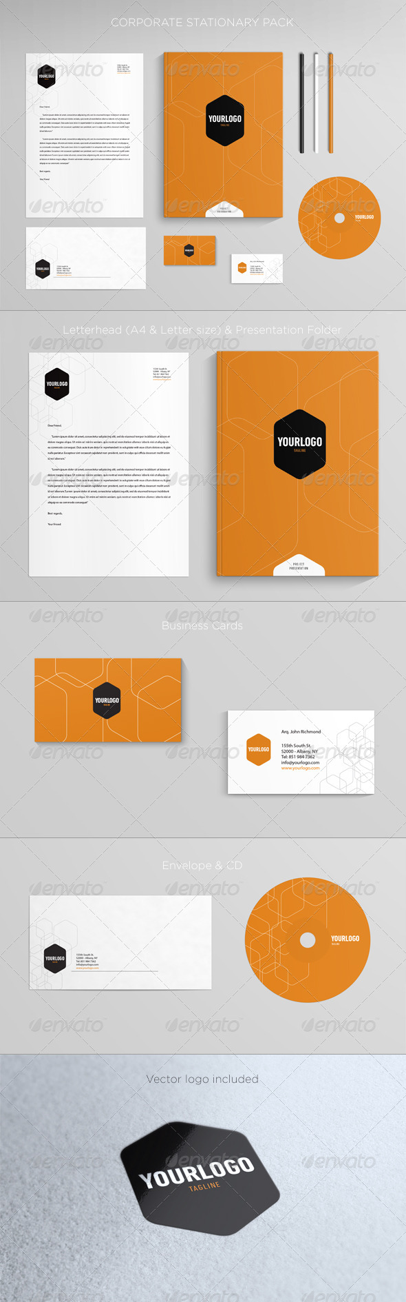 Corporate Stationary - Stationery Print Templates