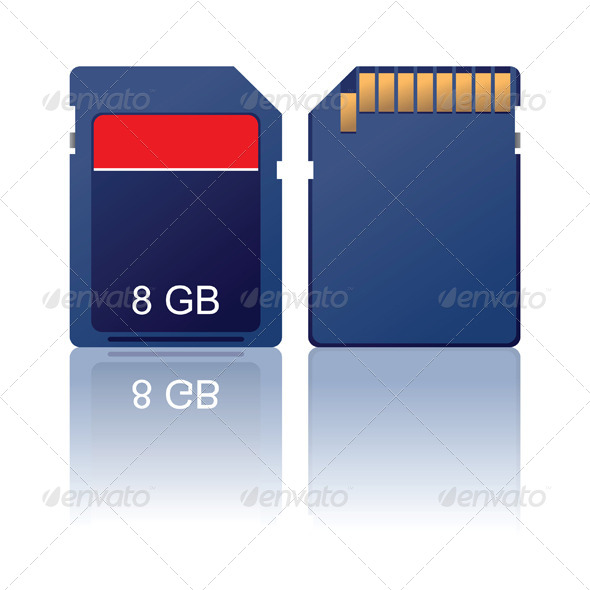 Memory Card - Man-made Objects Objects