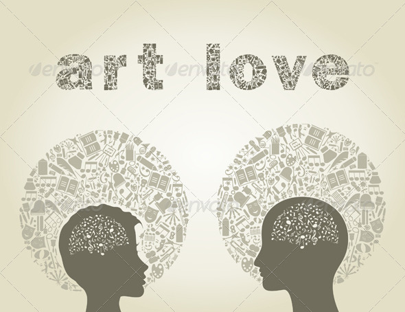 Art Love - People Characters