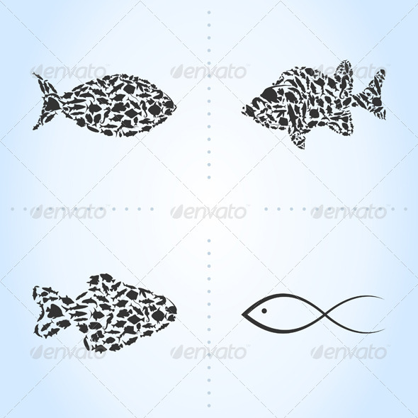 Fish an Icon - Animals Characters