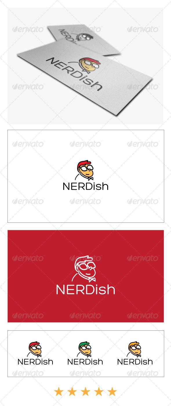 Nerd Logo Template - Humans Logo Templates