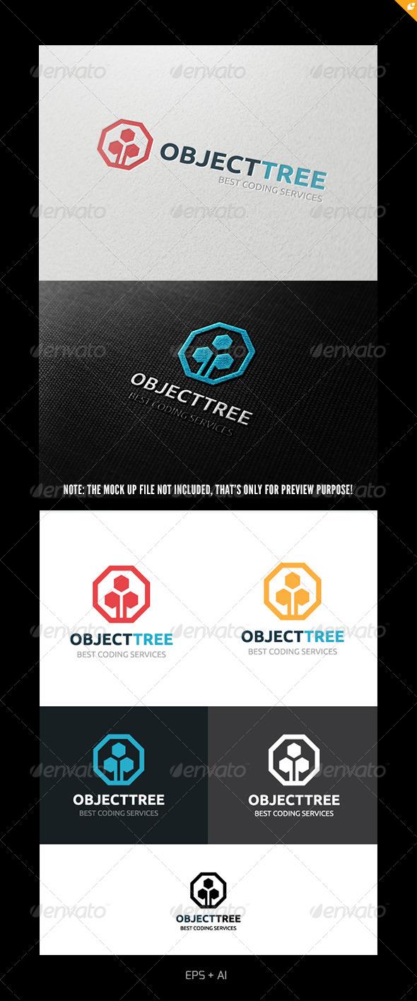 Object Tree Logo - Objects Logo Templates