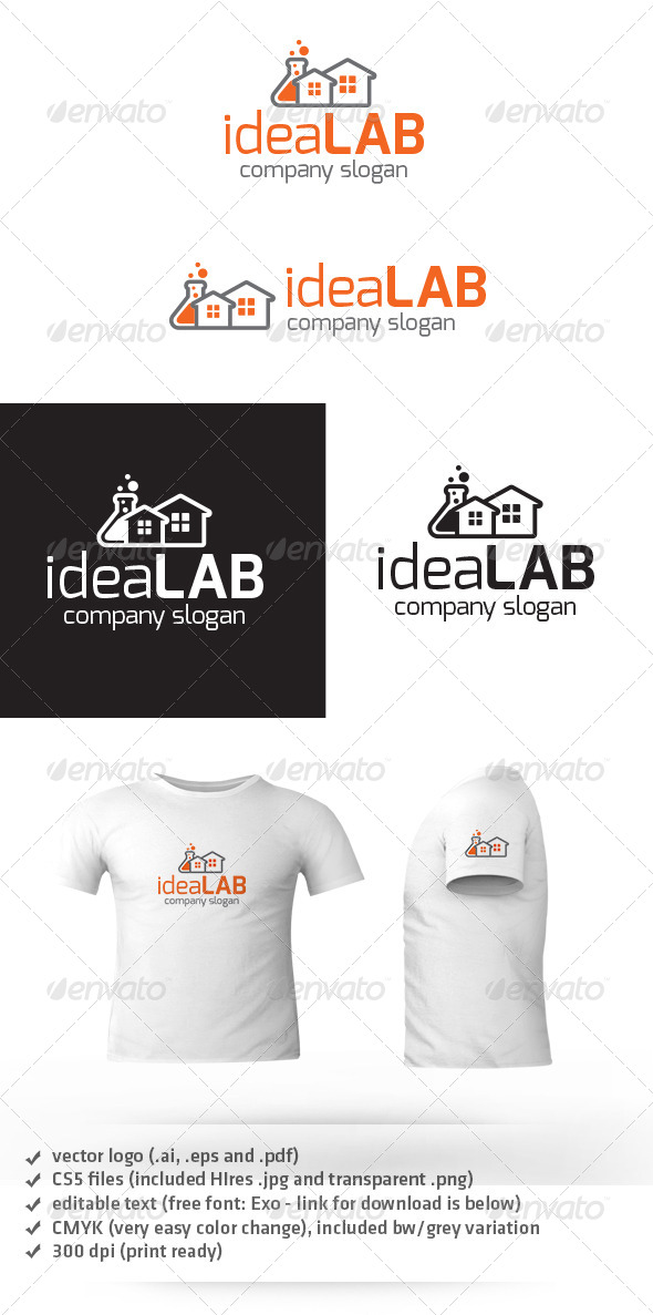 Idea Lab Logo - Objects Logo Templates