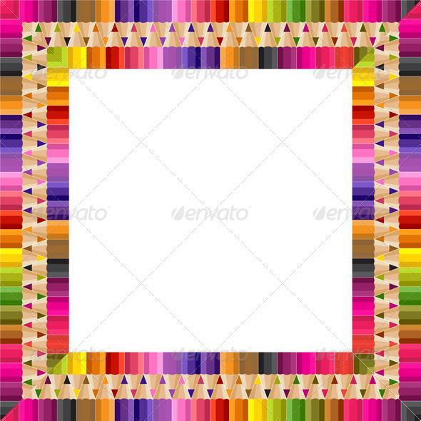 Square Frame - Borders Decorative