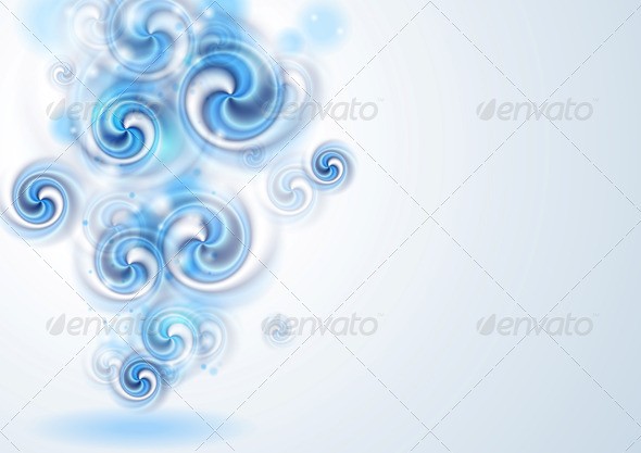 Colourful Vector Card Design - Backgrounds Decorative