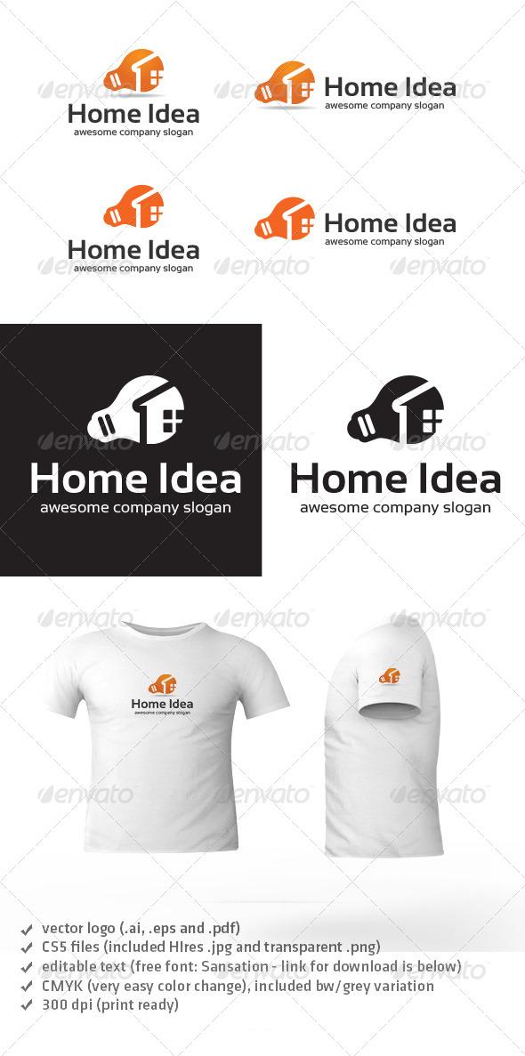 Home Idea Logo - Objects Logo Templates