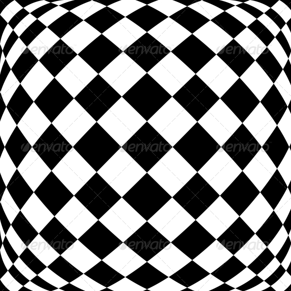 Black and White Hypnotic Background - Backgrounds Decorative