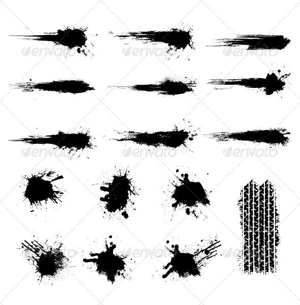 Grunge Element - Decorative Vectors