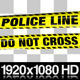 Yellow Police Line Do Not Cross Tape - 5 Videos - VideoHive Item for Sale