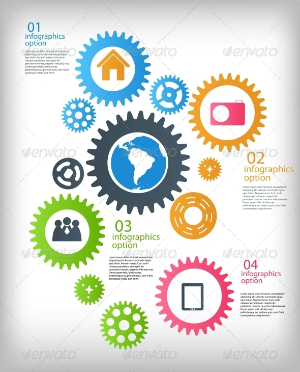 Infographic Business Template  - Concepts Business
