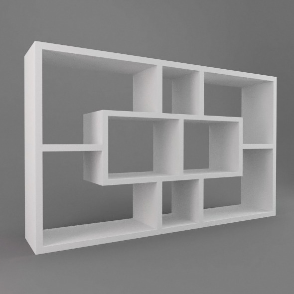 Impressive Shelving Unit in the Style of Charlotte Perriand | 1stdibs.com