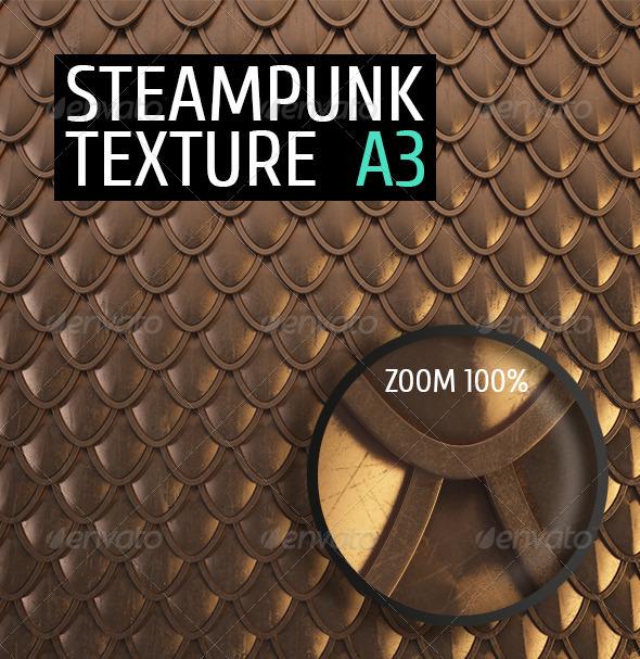 Steampunk Texture A3 - Textures