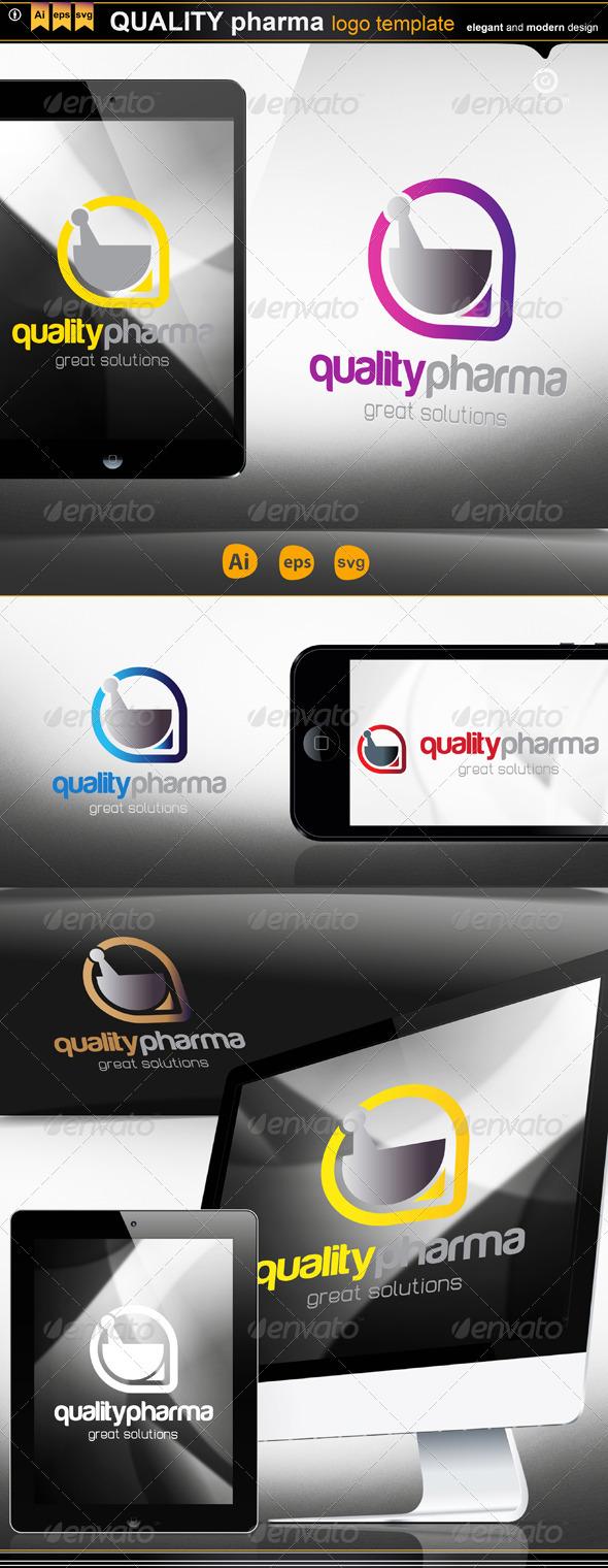 Quality Pharma - Logo Templates