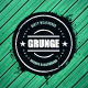 Grunge Banner on Wooden Background - GraphicRiver Item for Sale
