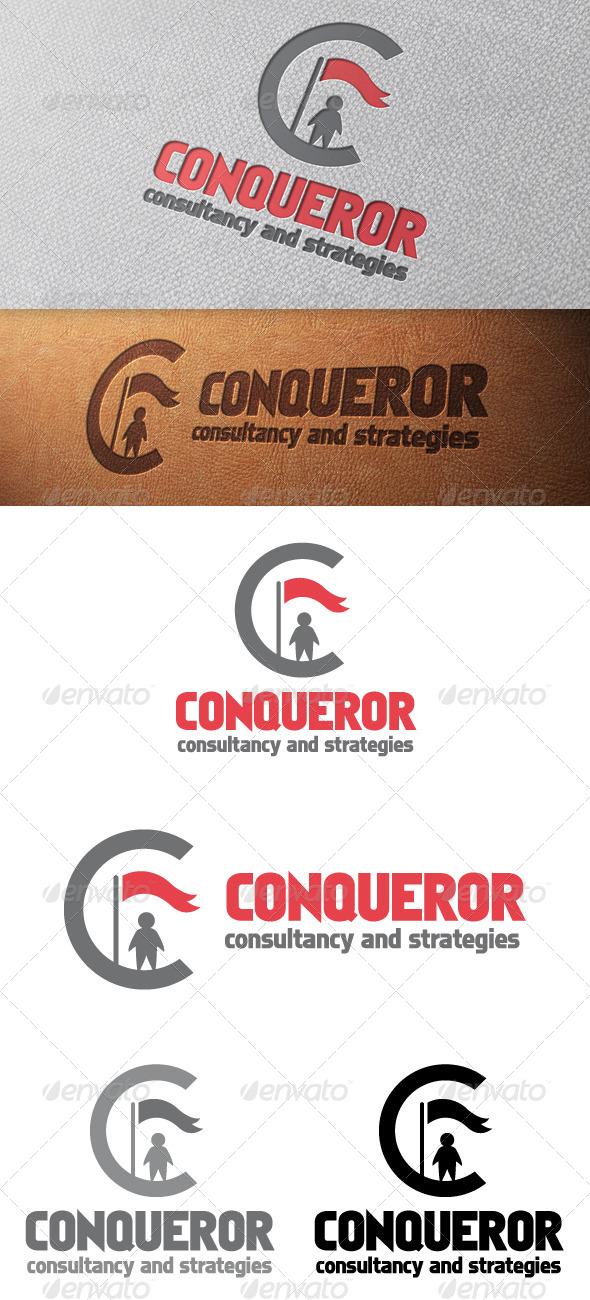 Conqueror Letter C Logo Template - Letters Logo Templates
