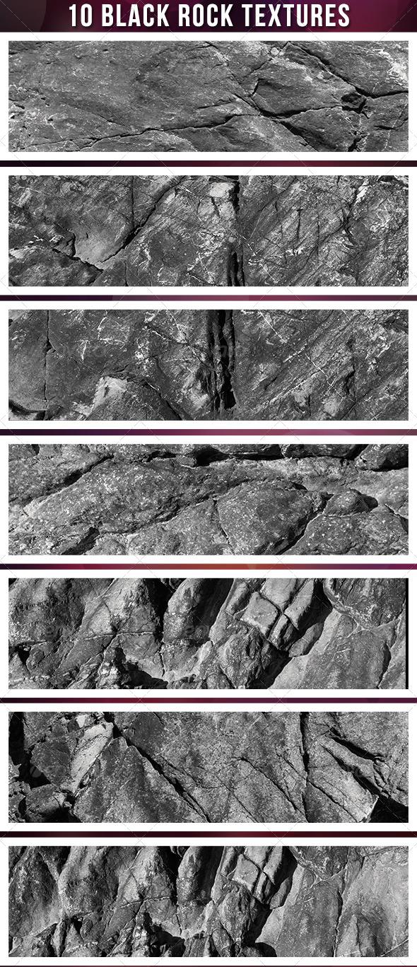 Ten Dark Stone Textures - Stone Textures