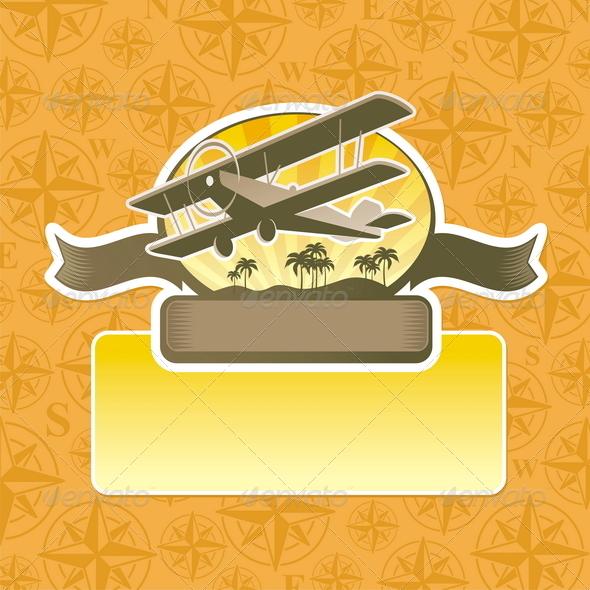 Vector Adventure and Travel Emblem - Travel Conceptual