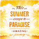 Summer Escape Party Flyer - GraphicRiver Item for Sale