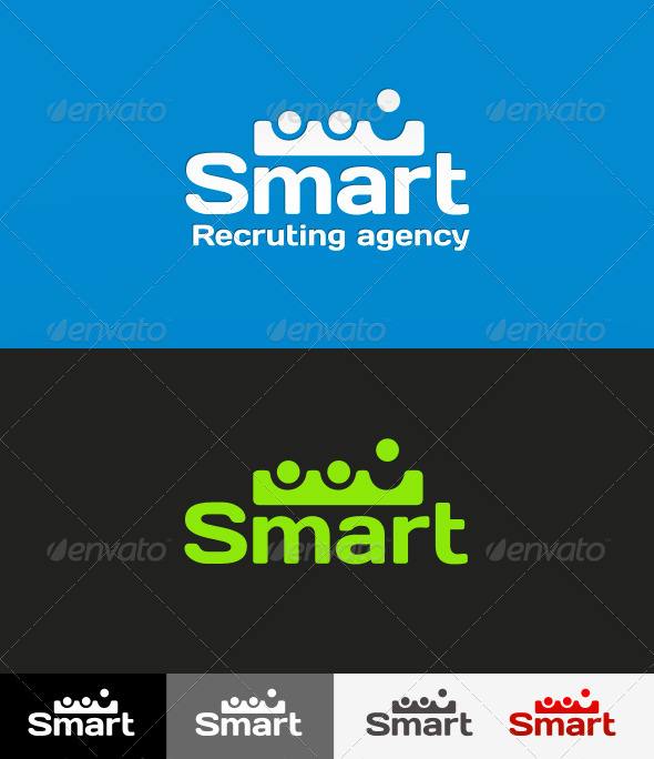 Potentially Recruting Agency Logo - Logo Templates