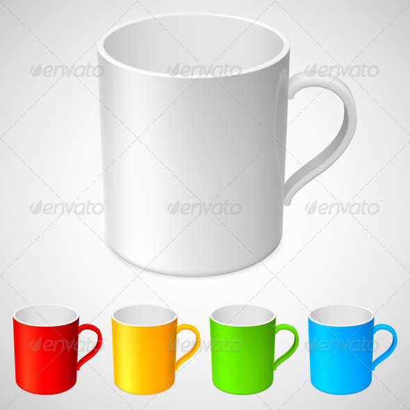 Cups - Objects Vectors