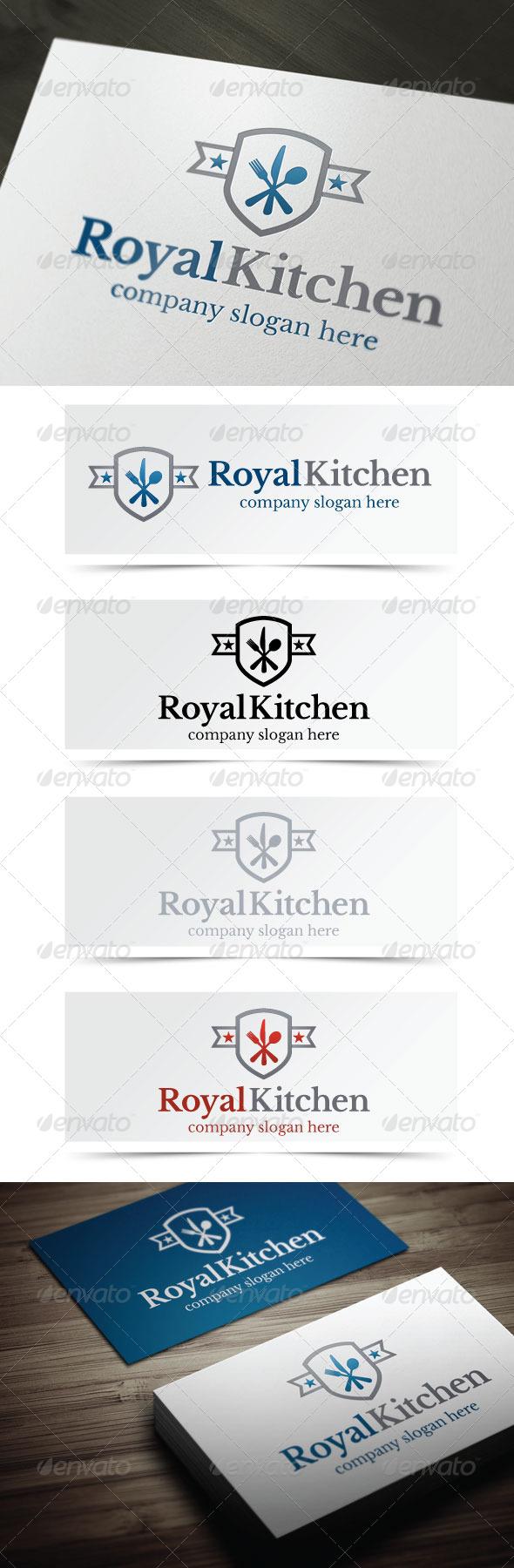 Royal Kitchen - Food Logo Templates
