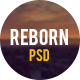 Reborn - Retro PSD Template - ThemeForest Item for Sale