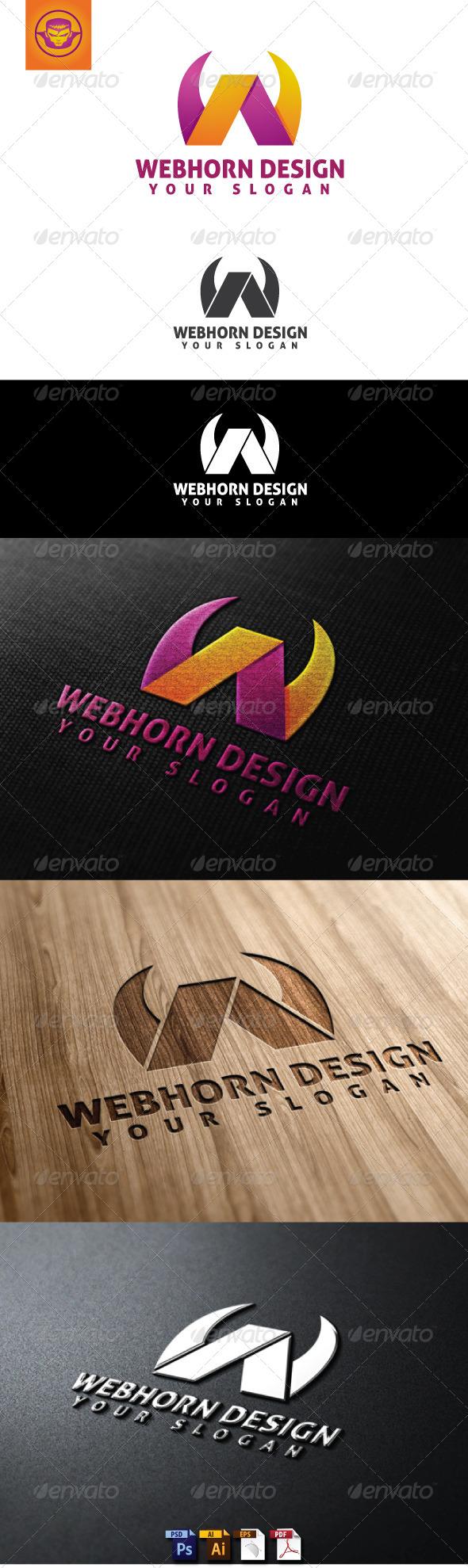Webhorn Design Logo Template - Letters Logo Templates
