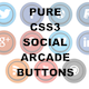Pure CSS Social Arcade Buttons. - CodeCanyon Item for Sale