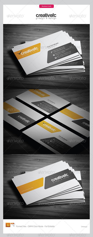 Corporate Business Cards 351 - Corporate Business Cards