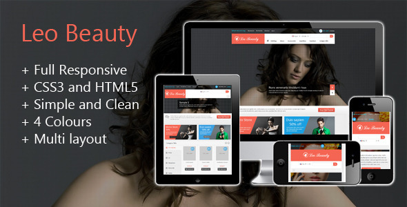 Leo Beauty Store Prestashop Theme