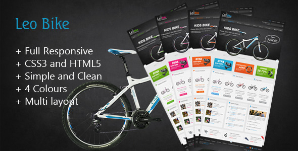 Leo Bike Prestashop Theme - Fashion PrestaShop