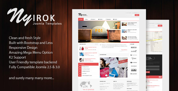 Nyirok - Responsive Portfolio & Business Templates by themesonic ...
