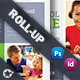 School Time Roll-Up Template - GraphicRiver Item for Sale