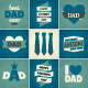Father's Day Cards Collection - GraphicRiver Item for Sale