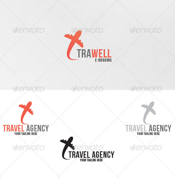 Travel Agency - Logo Template - Symbols Logo Templates