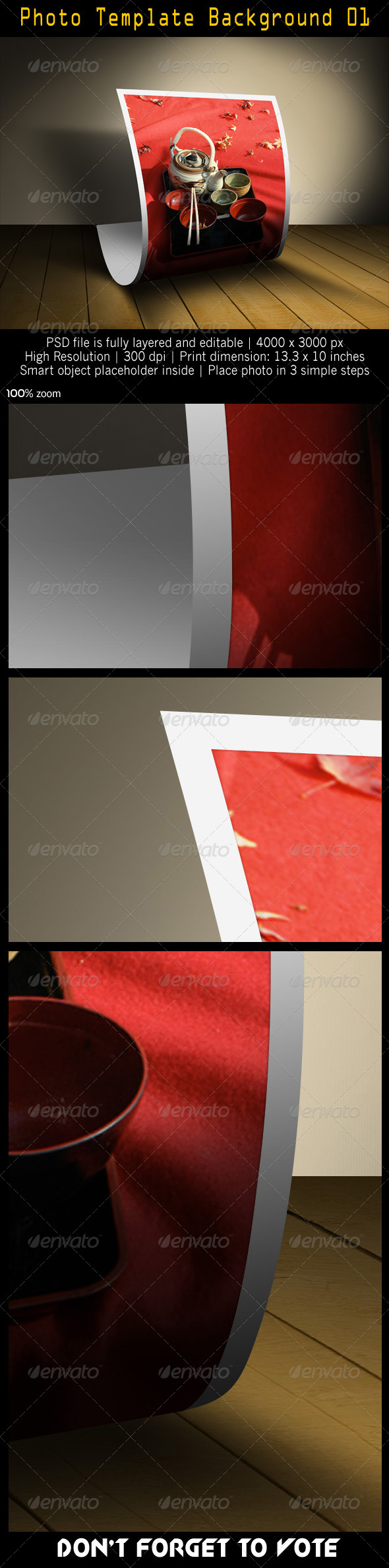Photo Template Background 01 - Artistic Photo Templates