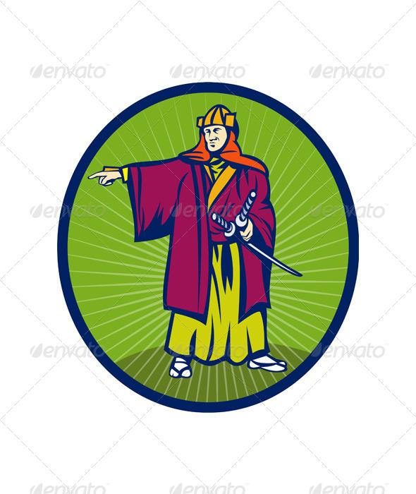 Samurai Warrior Sword - People Characters
