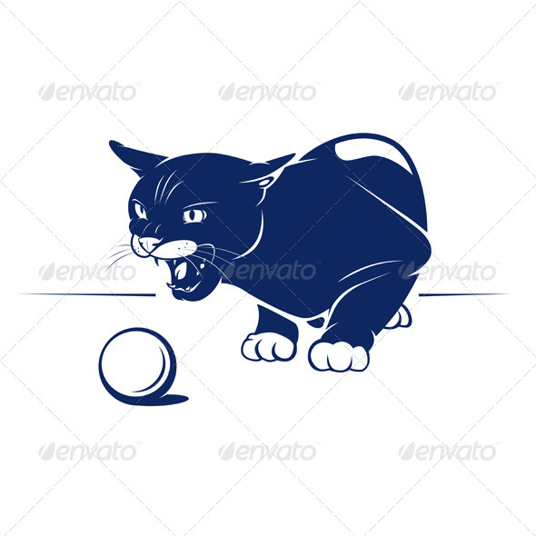 Cartoon Evil Cat - Animals Characters