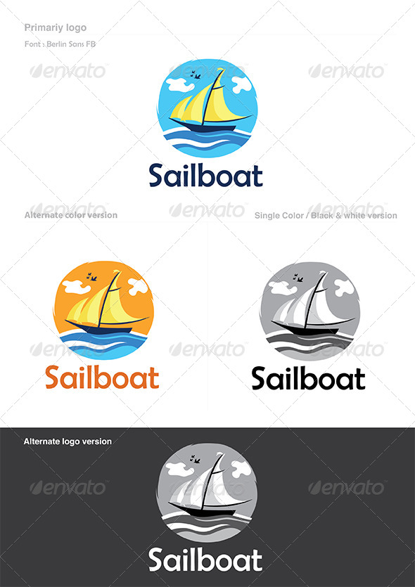 Boat Logo - Objects Logo Templates