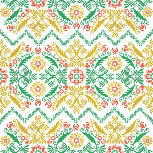 Seamless Classic Pattern  - Patterns Decorative
