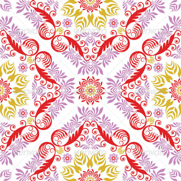Seamless Classic Pattern 19 - Patterns Decorative