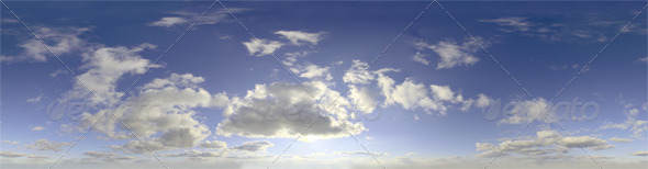 Skydome HDRI - Day Clouds III - 3DOcean Item for Sale