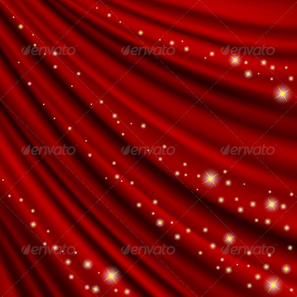Theater Curtain Mesh - Backgrounds Decorative