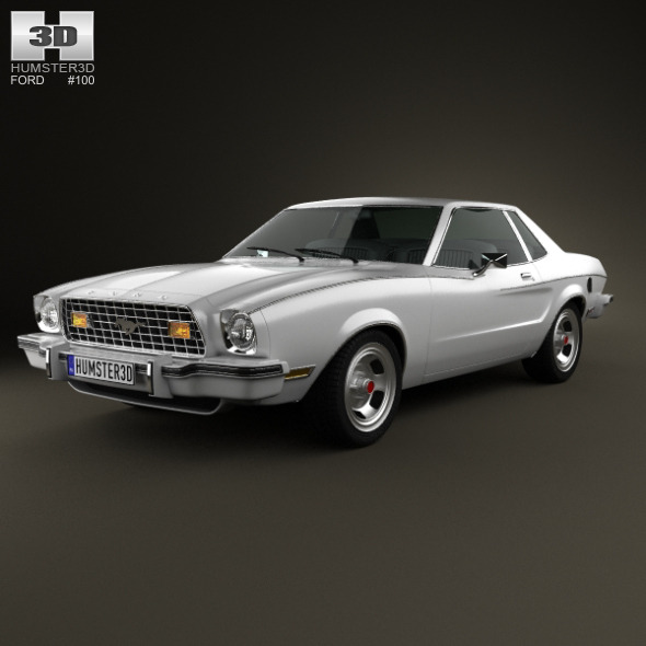 Ford Mustang coupe 1974 - 3DOcean Item for Sale