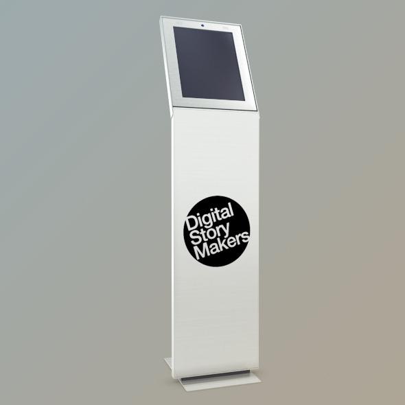 Kiosk Net Point - V1 (Mental Ray) - 3DOcean Item for Sale